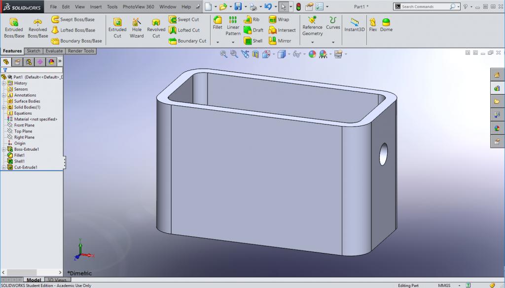 SolidWorks Unit 1 – SPHSengineering