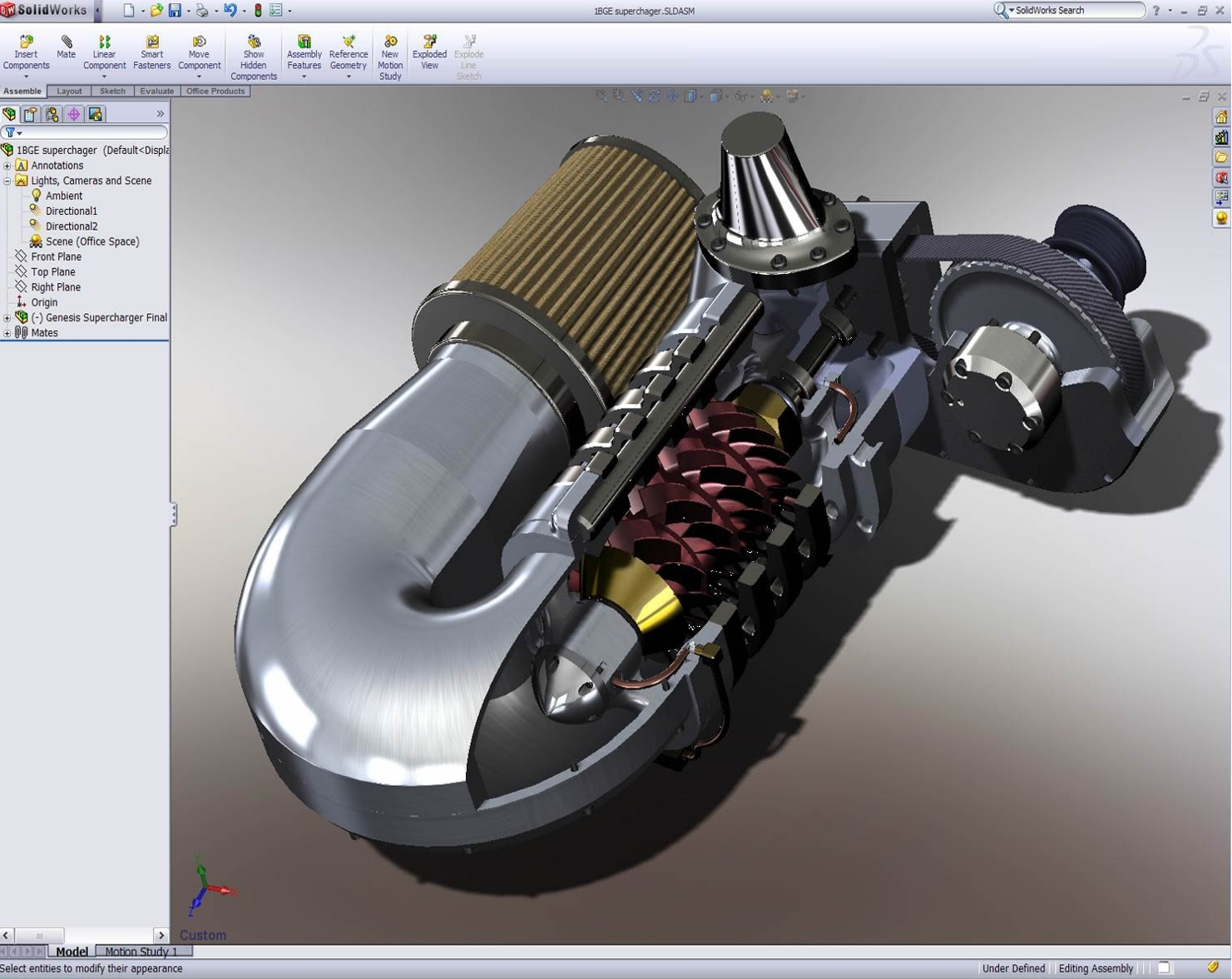Image Gallery Solidworks Projects
